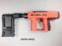 """多功能連發擊釘槍, 可打3-1/4""""長釘(單發), 按裝施工, 帶這把EXP96就夠了!"""